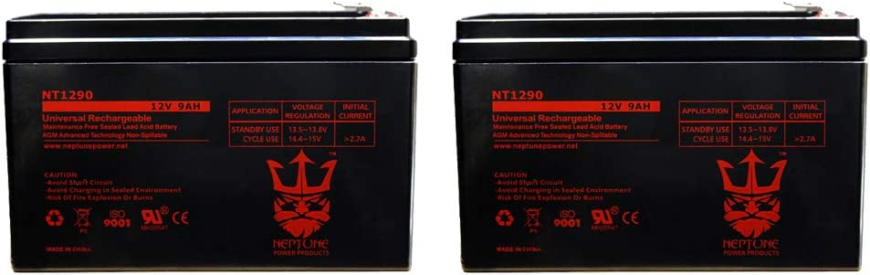 Neptune 12V 9AH SLA AGM Max 80% OFF HR9-12 RBC17 Dealing full price reduction Battery Replaces CP1290