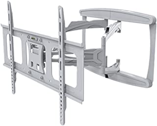 Soporte de TV Soporte de TV de montaje en pared de 32-65 pulgadas, Soporte de TV inteligente LCD giratorio retráctil creat...