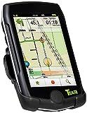Teasi pro pulse Fahrrad und Wandernavigation mit Herzfrequenzgurt, schwarz