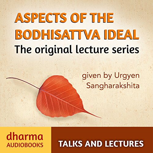 Aspects of the Bodhisattva Ideal audiobook cover art