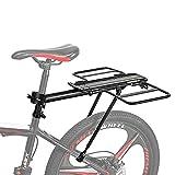 Percha Para Bicicletas Equipaje, Estante De Aleación De Aluminio De Bicicletas, Clases De Tres Conmutable, 24-29 Pulgadas, Adecuado Para Llevar A La Gente, La Carga Y Descarga Del Equipaje Bolsas