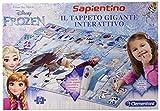 Clementoni- Frozen Tappeto Gigante Interattivo, Multicolore, 806808