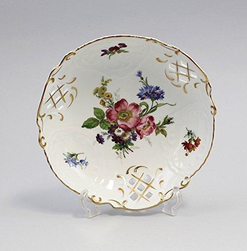 Porcelaine barockschale moyen de fleur (rose)