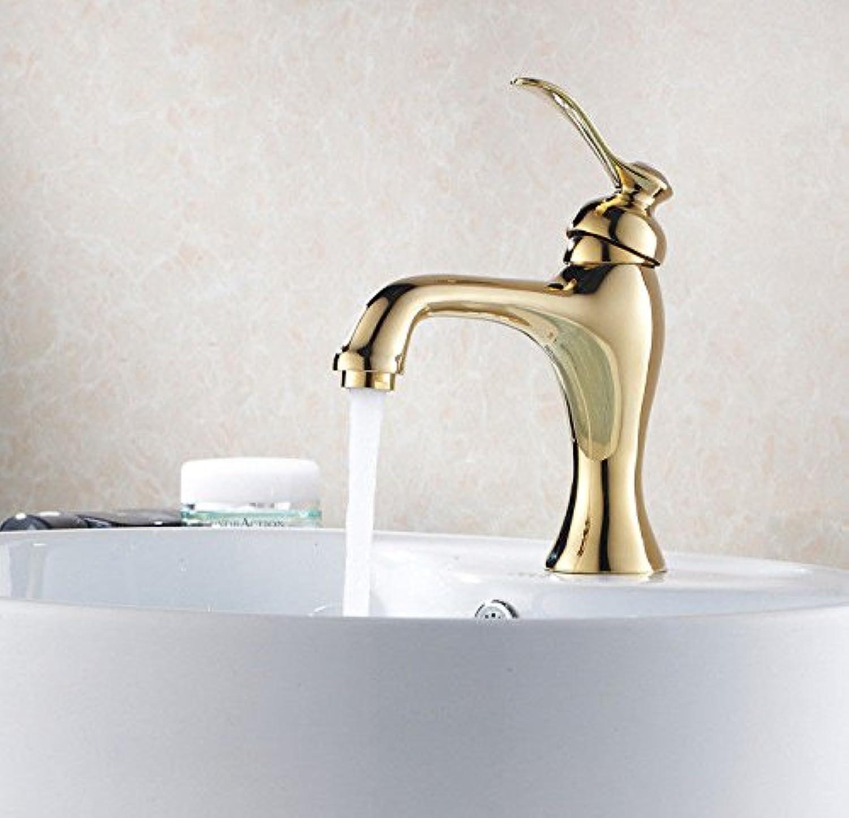 Moderne einfacheKupfer hei und kalt Spülbecken Wasserhhne Küchenarmatur Becken Wasserhahn antik verkupfert Küchenarmatur über Aufsatzbecken heie und kalte Waschbecken Geeignet für Badezimmer Küche