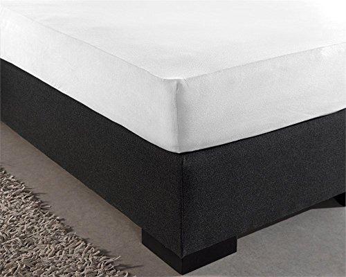 Dreamhouse Bedding Baumwoll Spanbetttuch Weiß 80x200
