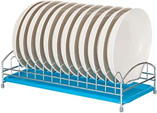 LLRYN Stainless Steel Drying Dish Rack, Kitchen Finishing Rack Drain Board Rack Storage Rack in Sink Container Accessories...