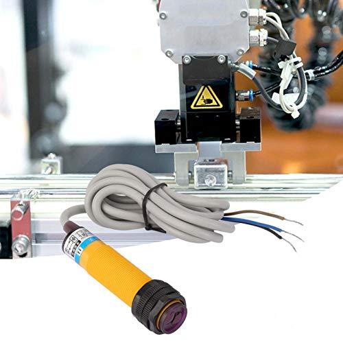 Interruptor fotoeléctrico de proximidad, interruptor fotoeléctrico de 10-30 cm, para fábrica familiar interior y exterior