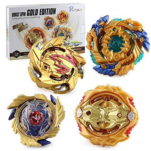 HASAKA Bey Burst Battle Case Set de juguete 4 piezas Gyro 1 hoja Burst Starter con estadio de batalla para spinning Top (A)