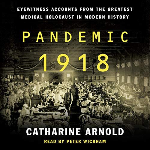 Pandemic 1918 audiobook cover art