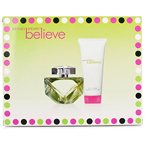 Britney Spears Believe Britney Spears Gift Set (Eau De Parfum Spray, Body Lotion)
