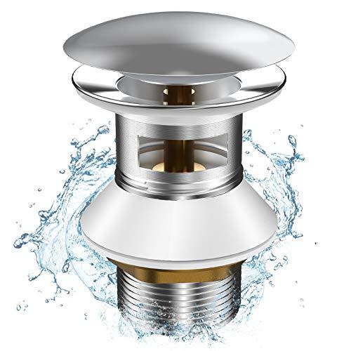 Rovtop Universelle Ablaufgarnitur Waschbecken von Verhindert Abfluss Waschbecken Austreten von Wasser Ablaufgarnitur Pop Up Einfach Zu Installieren und Weist Ein Hervorragendes Material Auf