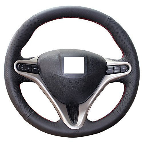 Eiseng Steering Wheel Cover for 3 Spokes 8th Honda Civic 2007...