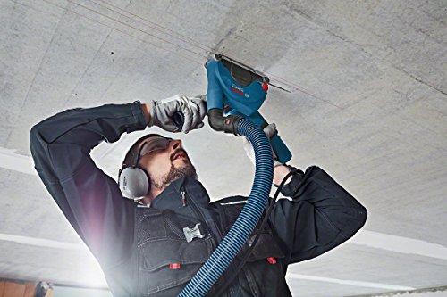 Bosch Professional 1600A003DK GDE 115/125 FC-T Absaughaube, 115 mm Trennscheiben-Ø, 20 mm max. Schnitttiefe, werkzeuglose Montage, 700 g