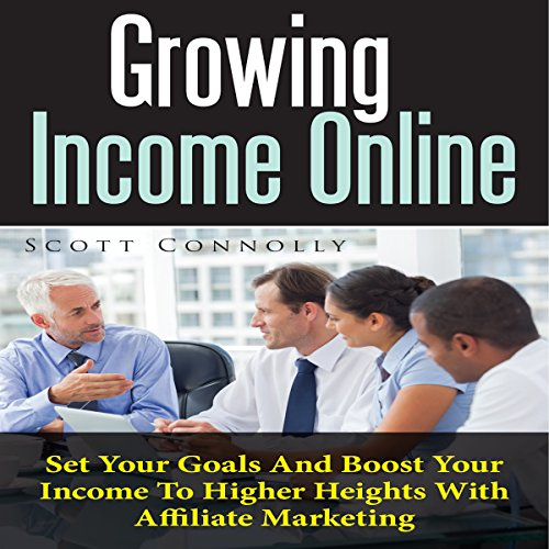 Growing Income Online audiobook cover art