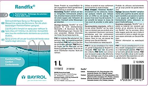 BAYROL BORDNET Limpiador de bordes de piscinas 1l.