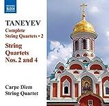 Serguei Taneiev : Intégrale des quatuors à cordes - volume 2
