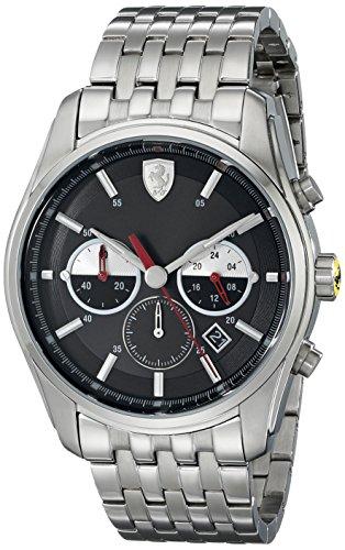 Ferrari Men's 830197 GTB - C Analog Display Quartz Silver Watch