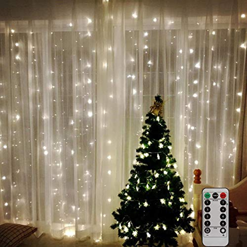 Shenyan LED USB Power Remote Control Curtain Christmas...