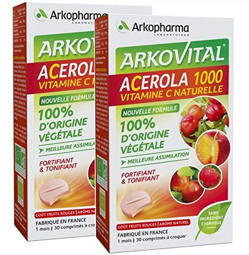 Arkopharma Acerola 1000 30 Tablets to Crunch
