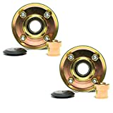 2PK Genuine OEM Toro Pulley Assembly 131-4529 for 30' Deck Mower Also Replaces 131-4509, 125-2532