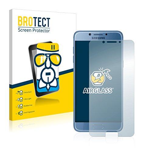 brotect Pellicola Protettiva Vetro Compatibile con Samsung Galaxy C5 PRO Schermo Protezione, Estrema Durezza 9H, Anti-Impronte, AirGlass