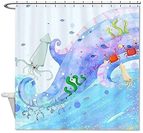 Duschvorhang Schimmelfrei Superfood-Gemüse Ganz Halbiert Abbildung Shower Curtain Textil Anti-Schimmel Wasserabweisend Showercurtain 180*180Cm Top Qualität Wasserdicht, Anti-Schimmel-Effekt 3D Di