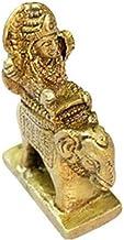 Guru Graha Idol in Brass / Jupiter Planet Statue / Hindu Religion God Sculpture