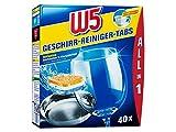 W5Vajilla limpiador de Tabs 40Pack–All-in-One