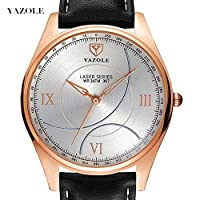 QTMIAO 美しいYAZOLE時計 367メンズ腕時計クォーツ腕時計 (Color : 1)