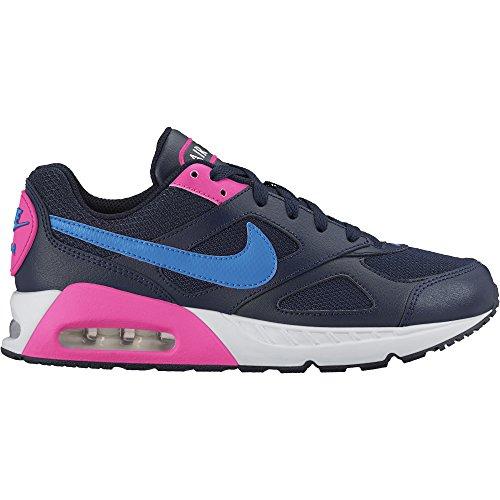 Nike Mädchen Air Max Ivo (GS) Laufschuhe, Schwarz/Blau/Rosa, 38.5 EU
