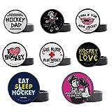 Scallywag® – Puck de Hockey sobre Hielo Voodoo Ref. & más diseños I A BRAYCE® Collaboration (Entrenamiento Puck o Puck)