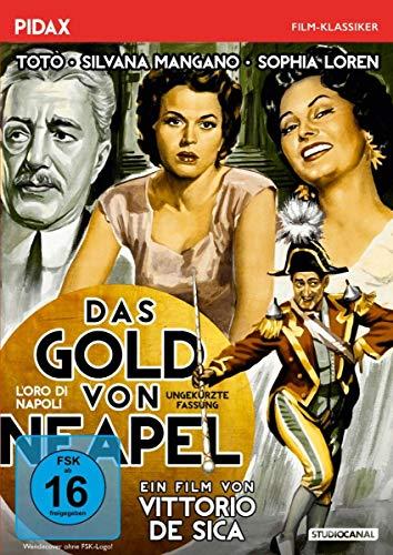 Das Gold von Neapel (L'oro di Napoli) - Ungekürzte Fassung / Filmisches Meisterwerk von Vittorio De Sica mit Starbesetzung (Pidax Film-Klassiker)