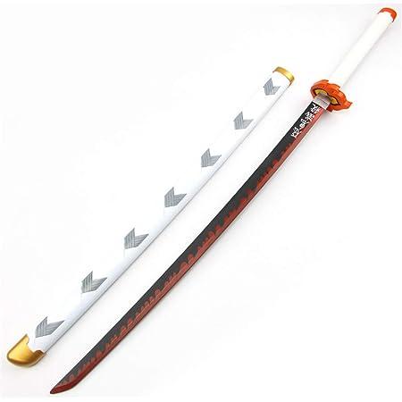 Sagapo 鬼滅の刃 新品 煉獄 杏寿郎 模造刀 日輪刀 コスプレ道具 Cosplay コスチューム 人気ギフト