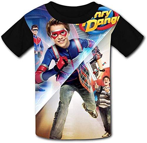 ANTOUZHE niño Camisetas Kid's Casual tee He-nRY Da-nG-eR 3D Print Graphics Fashion...