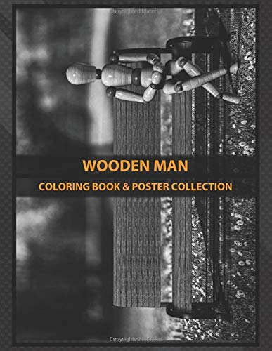 Coloring Book & Poster Collection: Wooden Man Waiting For The Taxi But The Taxi Never Comes Plate 1 Fantasy