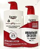 Eucerin Family Pack 1000 ml+400 ml de Regalo, Loción Hidratante Ultraligera.