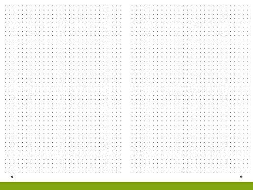 A5 Notizheft, gepunktet, 2er Pack, für das revolutionäre X17-Notizbuch mit auswechselbaren Heften