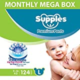 Best Always Adult Diapers - Supples Baby Diaper Pants, Monthly Mega-Box, Large Review
