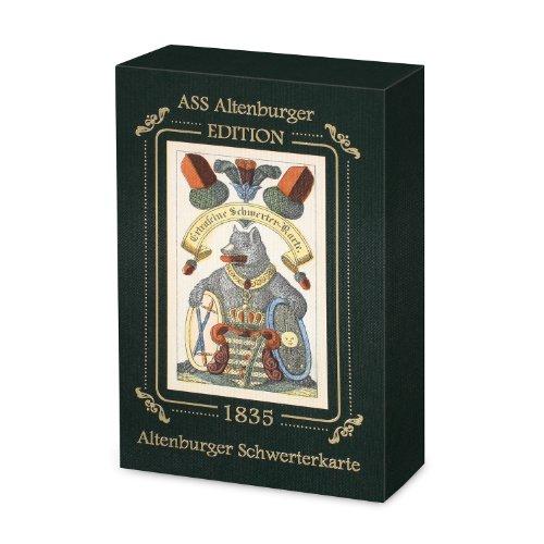 ASS Altenburger 22111511 - Schwerterkarte, Kartenspiel