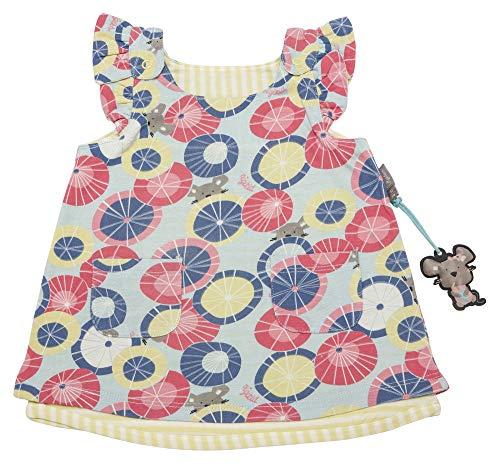 Sigikid Baby-Mädchen Wendekleid, Kleid, Mehrfarbig (Starlight Blue 575), (Herstellergröße: 80)