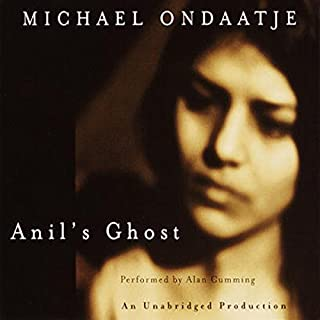 Anil's Ghost audiobook cover art
