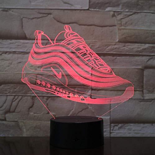Schuhe 3D LED Licht Nachtlicht USB/Batterie Laufwerk LED Nachtlicht Visueller Lichteffekt Geschenk für Jugendliche