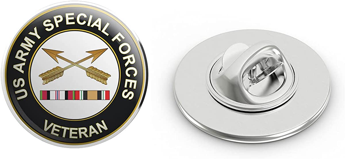 Veteran Pins US Army Special Forces Afghanistan and Iraq Metal 0.75