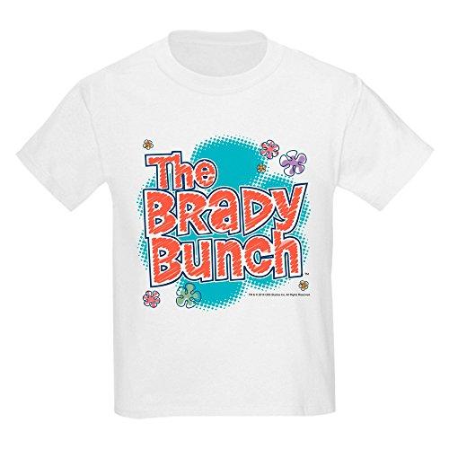 CafePress The Brady Bunch Logo Kids Light T Shirt Kids Cotton T-Shirt White