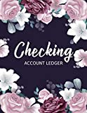 Checking Account Ledger: Check and Debit Card Register | 6 Column Payment Record Check Register Notebook | Transaction Register and Balance Book for ... Inch | High Quality Glossy Finish Cover.