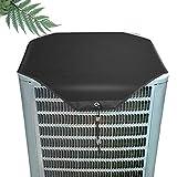 Lrxinki Funda protectora para exterior de aire acondicionado central, cubierta para unidad de exterior, cubierta universal para aire acondicionado, cubierta universal para todas las estaciones.