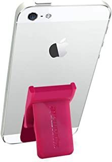 Promate GripMate Universal Smartphone Secure Finger Grip and Kick-Stand - Pink