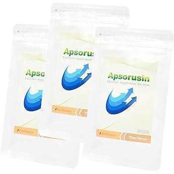 【Amazon限定】アプソルシン 増大サプリメント お試しパック/30粒入り シトルリン配合男性向けサプリ (3袋)