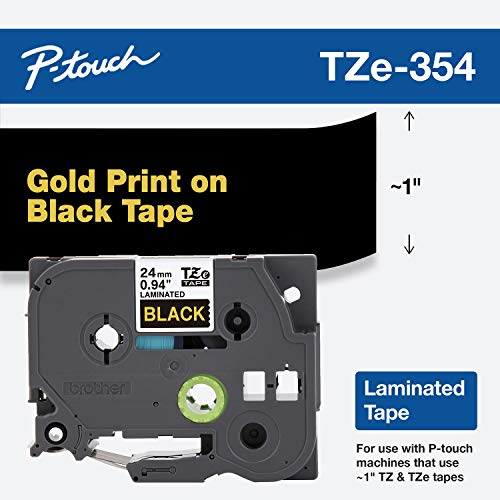 Brother Genuine P-Touch TZE-354 Tape, 1