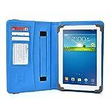 Sakar Camelio 2 7' Tablet Case, UniGrip PRO Edition - by Cush Cases (Light Blue)